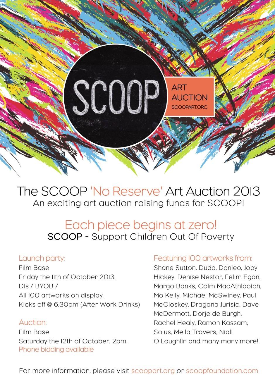 A5 flyer_Scoop Art Auction_Print2
